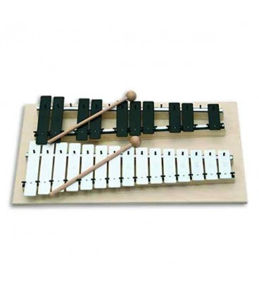 Goldon Chromatic Glockenspiel 11080  G to G with Mallets