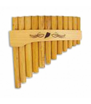 Schwarz Pan Flute A E Curve 0 055F