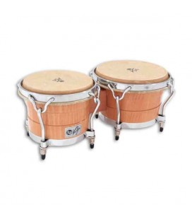 LP Pair of Bongos LP1400 BW Wood Valje Armando Peraza