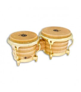 LP Pair of Bongos LP201AX 2AW Generation II Golden Hardware