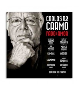 CD Sevenvuses Carlos do Carmo Fado 辿 Amor with CD and Dvd
