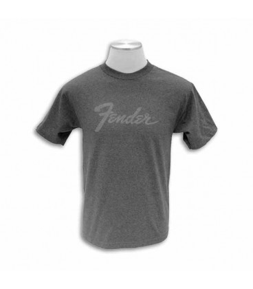 Fender T shirt Grey with Logo Size M