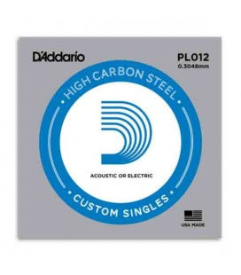 Daddário Electric or Acoustic Guitar String PL012 High ESteel