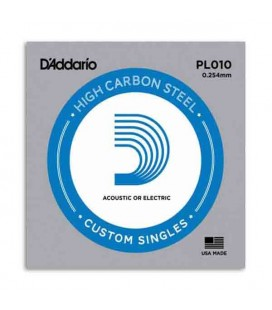 Daddário Electric or Acoustic Guitar String PL010 Steel