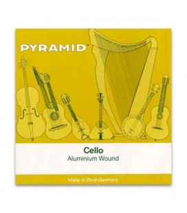 Pyramid Cello Strings Set 170100 Aluminium 4/4
