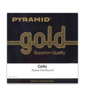Pyramid Cello Strings Set Gold 173100 4/4