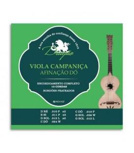 Drag達o Viola Campani巽a String Set 011 C 10 Strings