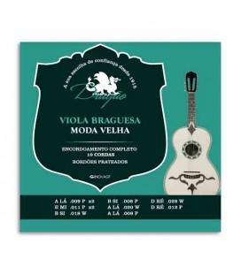 Package of strings Dragão 001 for viola braguesa moda velha tuning