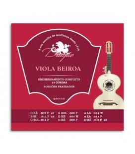 Dragão Viola Beiroa String Set 007 12 Strings