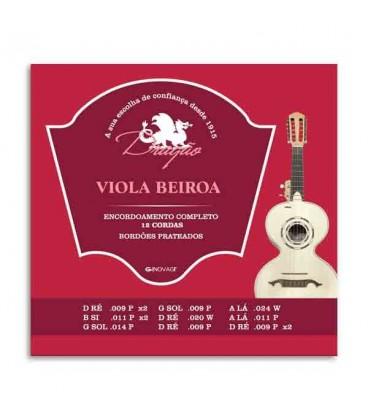 Drag達o Viola Beiroa String Set 007 12 Strings