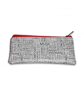 Collection Money Pocket with Musical Motifs