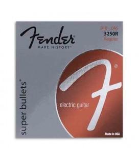 Fender Electric Guitar String Set 3250R Nickel Plated 010
