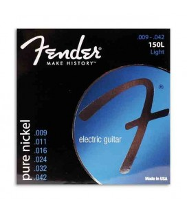 Fender Electric Guitar String Set 150L Pure Nickel 009