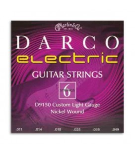 String Set Martin Darco Electric Guitar 011 D9150
