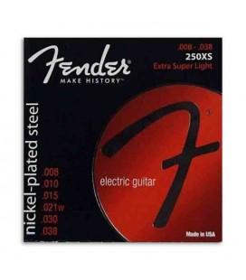 Fender Electric Guitar Strings Set 250XS Nickel Plated Steel 008 038