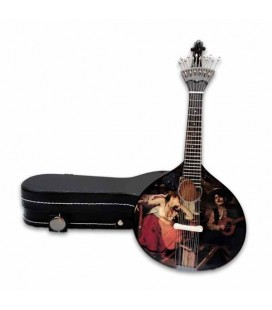CNM Miniature 519 Portuguese Guitar with Case Fado José Malhoa