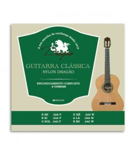 String Set Classical Guitar Dragão 026 Nylon