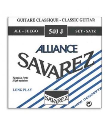 Savarez Classical Guitar String Set 540 J Nylon HighTension