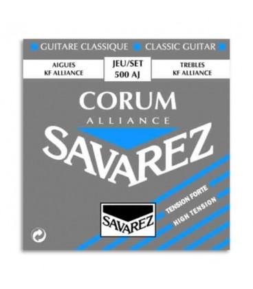 Savarez Classical Guitar String Set 500 AJ Corum Alliance HighTension