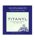 Hannabach Classical Guitar String Set Titanyl Medium High Tension E950MHT