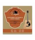Drag達o Classical Guitar String Set 021 Steel Superior B Bass Button