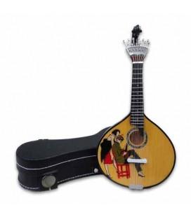 CNM Miniature 526 Portuguese Guitars with Case Stuart Carvalhais