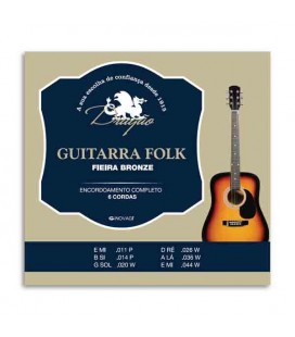 Drag達o Folk Guitar String Set 045 6 Strings 1200