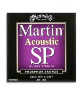 Martin String Set MSP4050 for Folk Guitar Phosphor Bronze 011