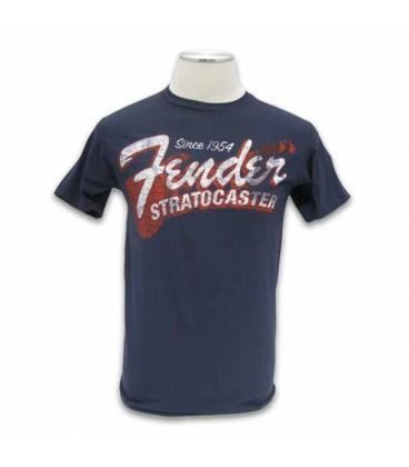 Fender T shirt Blue Since 1954 Size M