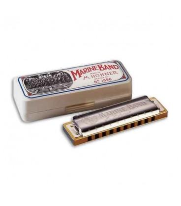 Photo of harmonica Hohner Marine Band in G
