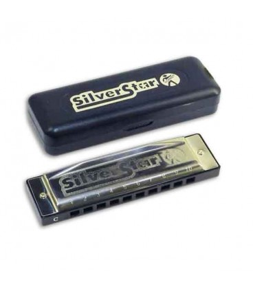 Hohner Harmonica Silver Star in A 504 20 A