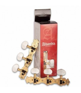 Alhambra Classical Guitar Machine Heads 9487 Golden N2