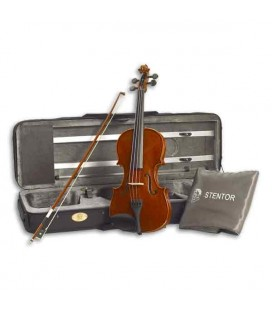Photo of violin Stentor Conservatoire 1/2 with bow and case