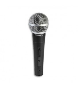 Dynamic Microphone Proel DM580LC with Switch with Cable XLR