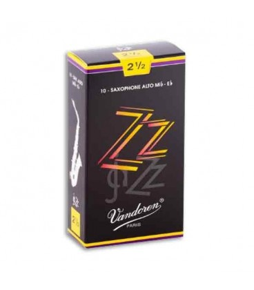 Vandoren Alto Saxophone Reed SR4125 Jazz n尊 2 1/2