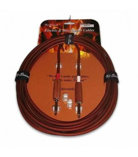 Kisound Cable for Guitar 4,5m Cut Off KSSUW15