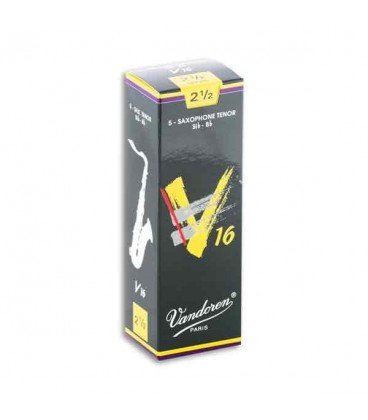 Vandoren Tenor Saxophone Reed SR7225 V16 n尊 2 1/2