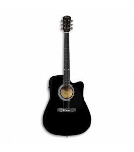 Electroacoustic Guitar Fender Squier SA 105CE Black