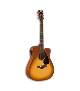 Yamaha Electroacoustic Guitar FGX800C SDB Spruce Nato Sand Burst