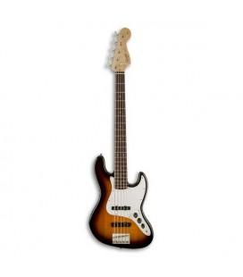Bass Guitar Fender Squier Affinity Jazz Bass V 5 Strings RW Brown Sunburst