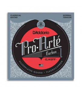 Daddário Classical Guitar String Set EJ45FF Carbon Normal Tension