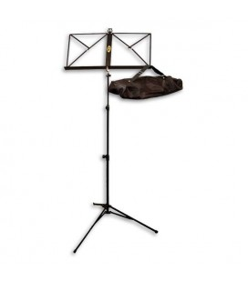 Complete photo of FX F900702 music stand with bag