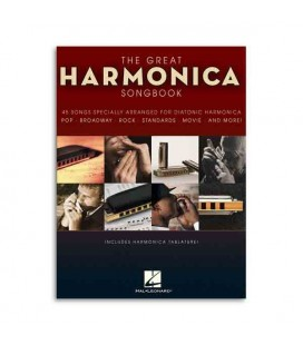 Book Music Sales The Great Harmonica Songbook HL00821039