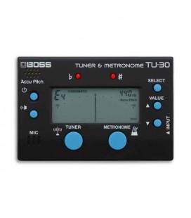 Boss Tuner and Metronome TU 30