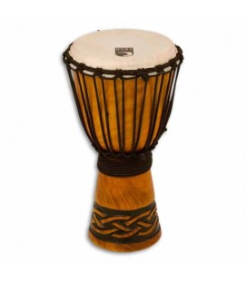 Djembe Toca Percussion TODJ 8CK Origin Series in Wood Rope Tuned