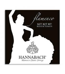 Hannabach Flamenco Guitar String Set E827MT Nylon Medium Tension