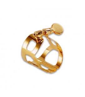 BG Alto Ligature L10 Tradition Metal Golden with Top