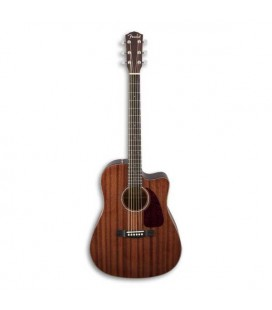 Fender Electroacoustic Guitar Dreadnought CD 140SCE All Mahogany with Case