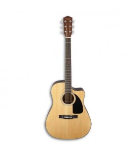 Electroacoustic Guitar Fender CD 60SCE Dreadnought Natural