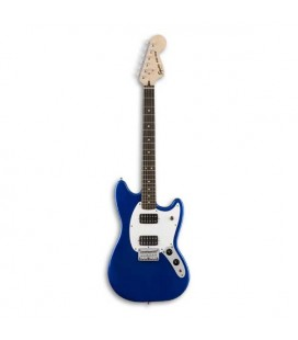 Photo of guitar Squier Bullet Mustang HH RW Imperial Blue